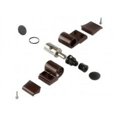 Дверная петля Giesse Domina Classik 62.5 мм 2-ух секционная коричневая