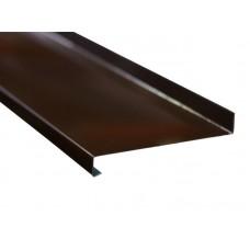 Отлив коричневый