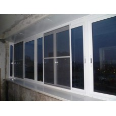 Москитка для раздвижных пластиковых окон PROVEDAL, белая