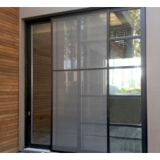 Антимоскитная сетка на раздвижную дверь PROVEDAL, коричневая